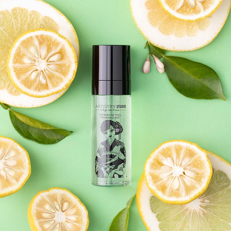 Gaivi kvapiojo citrinmedžio aromato dulksna ARTISTRY STUDIO™ Tokyo Edition 60ml